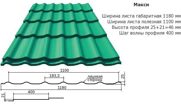 metall profil maksi
