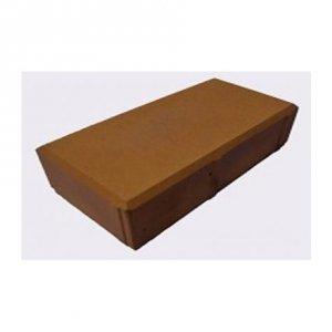 Брусчатка тротуарная Кирпич (шагрень) 6 см